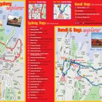 Sydney Maps   Top Tourist Attractions   Free, Printable City Street Map   Sydney City Map Printable