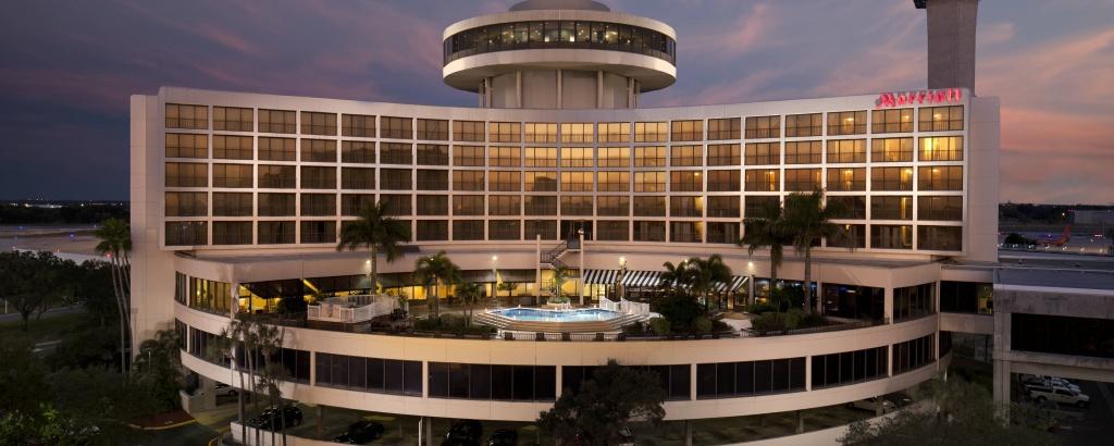 Tampa International Airport Hotel - Tpa   Tampa Airport Marriott - Tampa Florida Airport Hotels Map