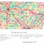 Tennessee Printable Map   Printable Map Of Tennessee Counties
