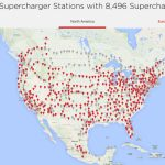 Tesla Supercharger Network 2018 — Plans Call For Rapid Expansion   Ev Charging Stations California Map