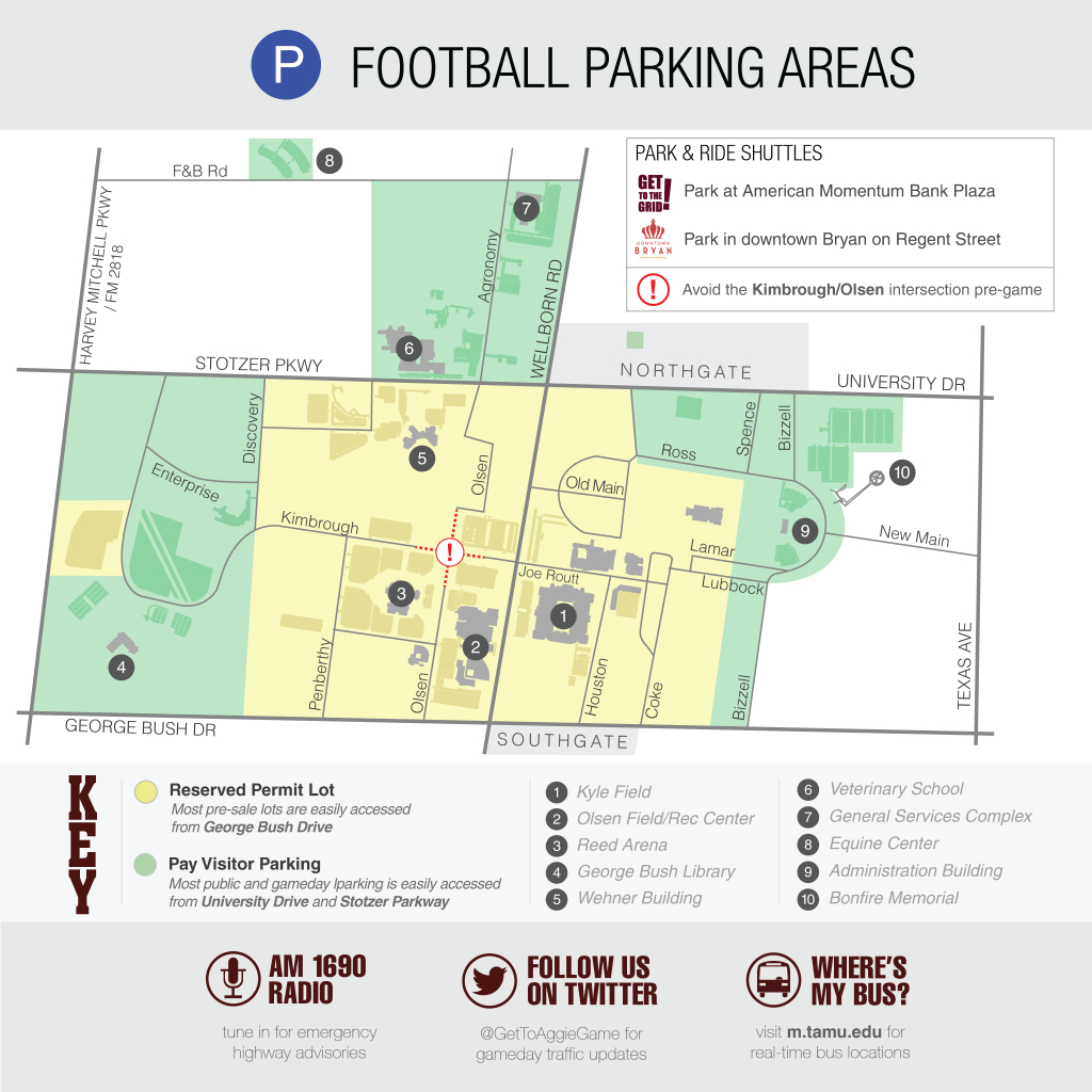 Texas A&m Football Parking Map | Business Ideas 2013 - University Of Texas Football Parking Map 2016