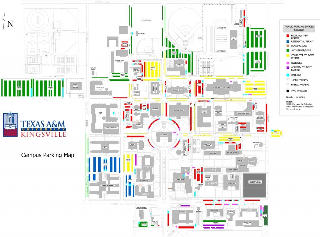 Texas A&m University Kingsville - Texas A&m Location Map