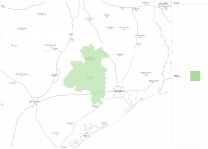 Texas Broadband Map
