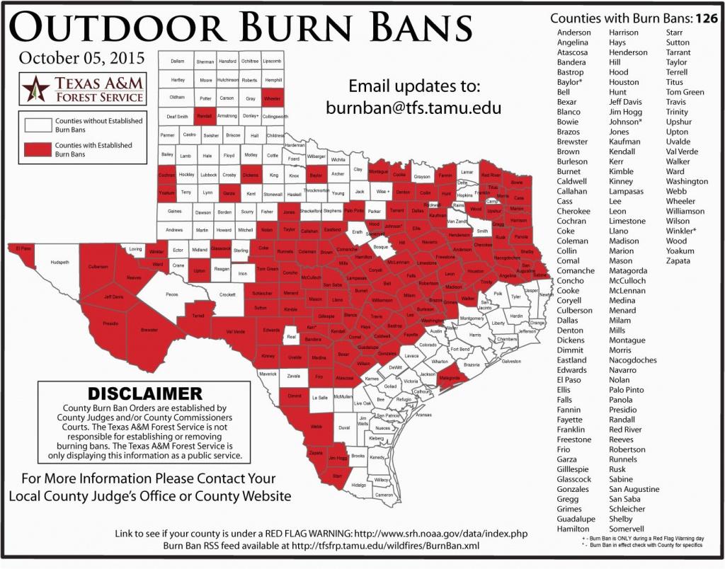 Texas Burn Ban Map | Secretmuseum - Texas Burn Ban Map