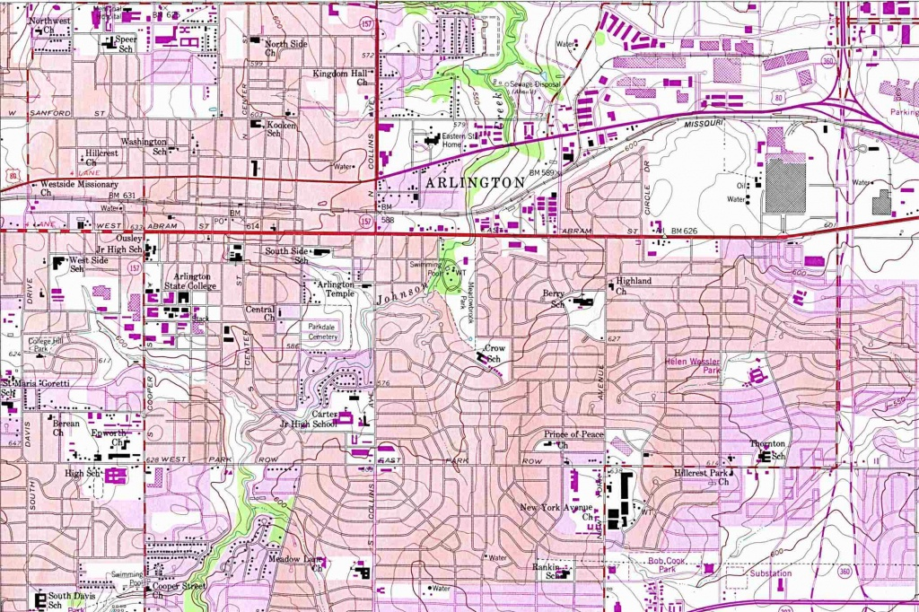 Texas City Maps - Perry-Castañeda Map Collection - Ut Library Online - Google Earth Texas Map