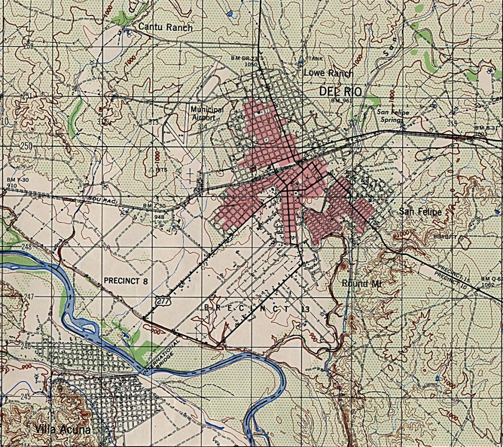 Texas City Maps - Perry-Castañeda Map Collection - Ut Library Online - Google Maps Fort Hood Texas
