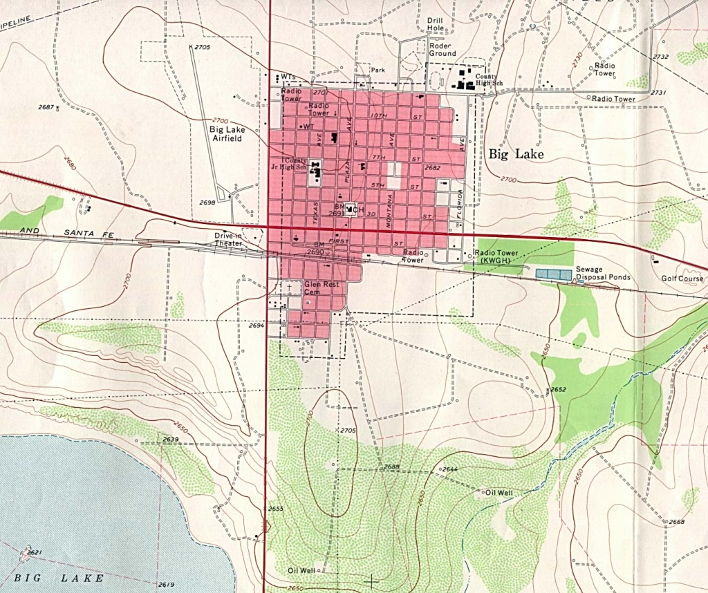 Texas City Maps - Perry-Castañeda Map Collection - Ut Library Online - Mesquite Texas Map