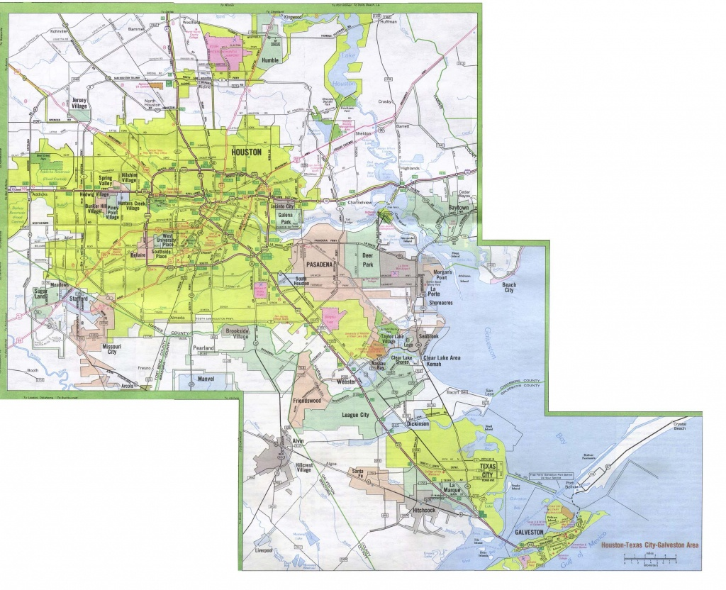 Texas City Maps - Perry-Castañeda Map Collection - Ut Library Online - Show Map Of Houston Texas