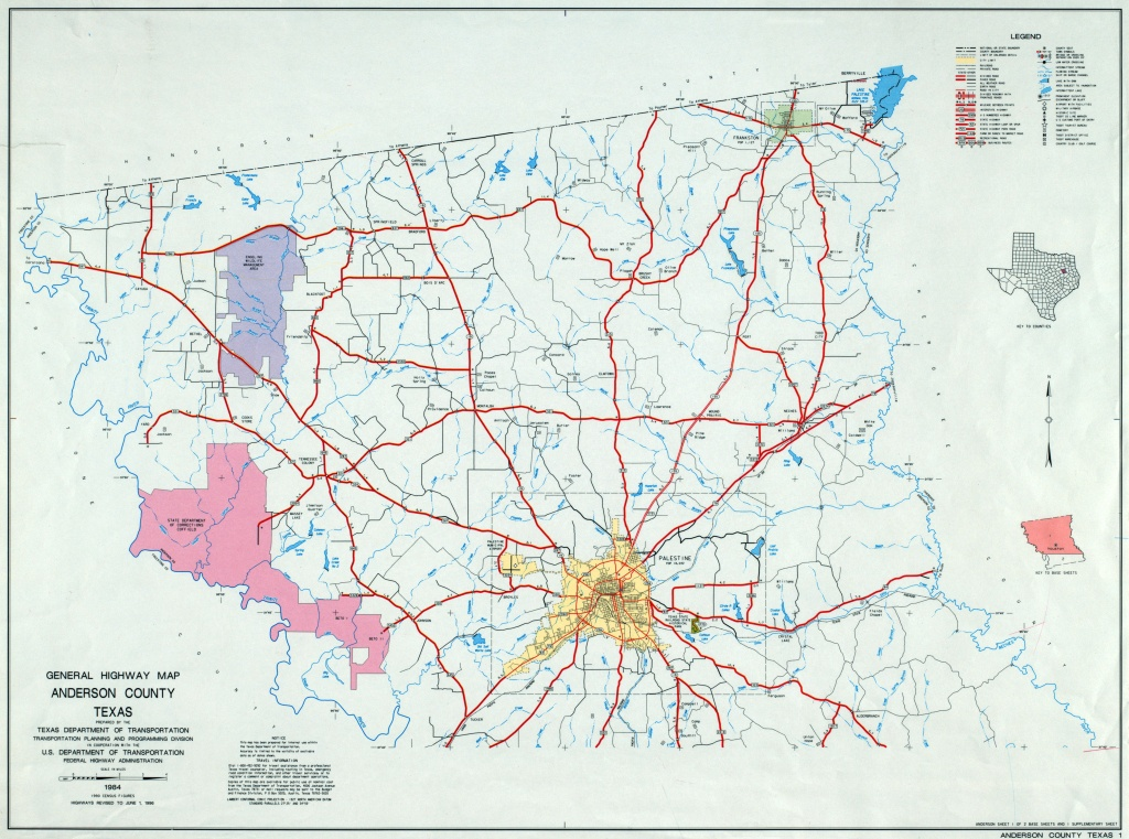 Texas County Highway Maps Browse - Perry-Castañeda Map Collection - Marion Texas Map