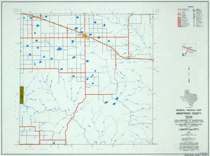 Martin County Texas Section Map