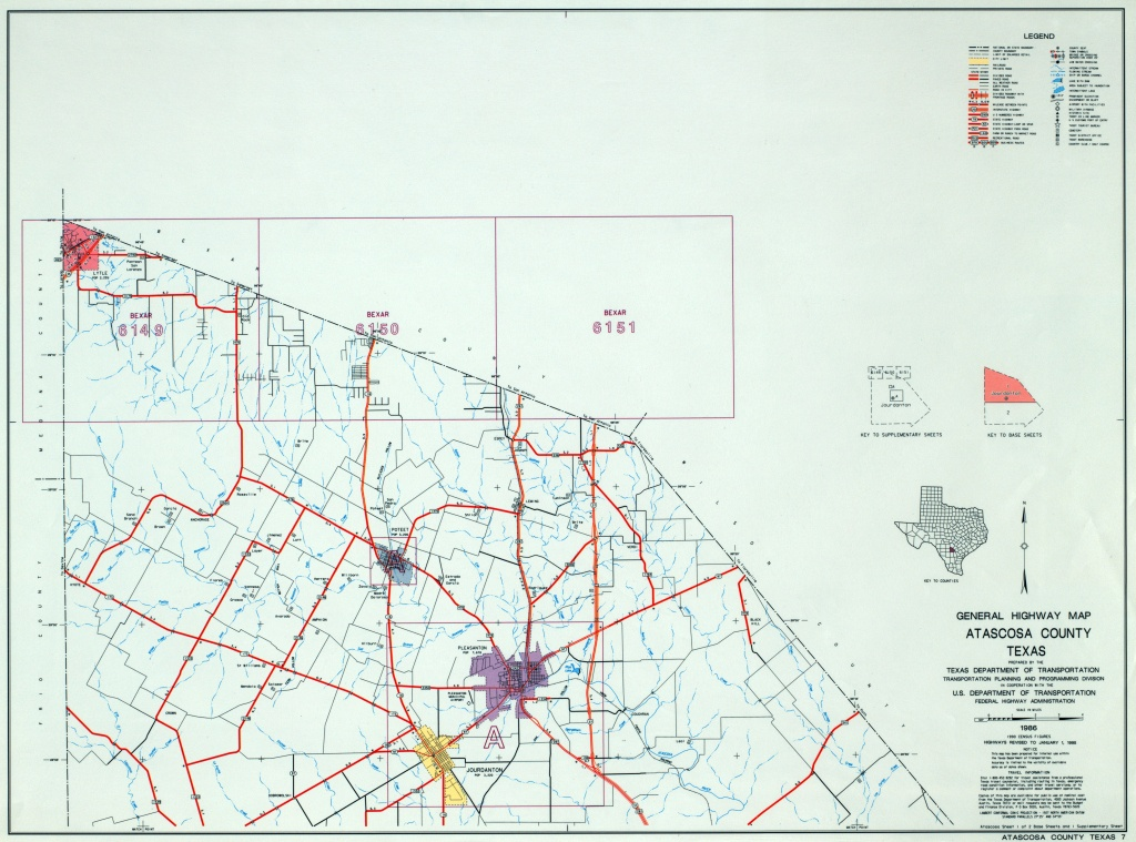 Texas County Highway Maps Browse - Perry-Castañeda Map Collection - Texas Farm To Market Roads Map
