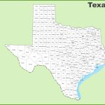 Texas County Map   Texas County Map