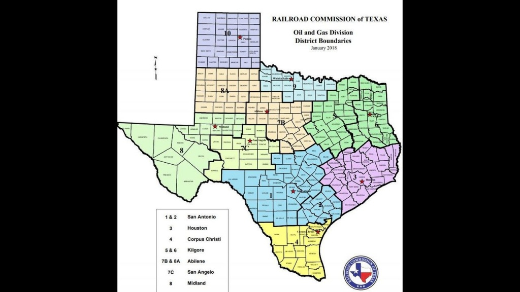 Texas Drilling Permits And Completions Statistics For December 2018 - Texas Railroad Commission Drilling Permits Map