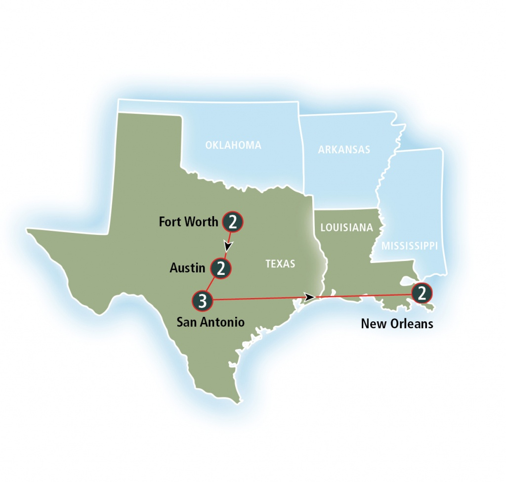 Texas Eagle | Amtrak Vacations - Texas Eagle Train Route Map
