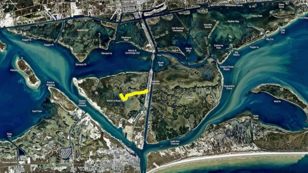 Texas Fishing Tips Kayak Fishing Report Feb 2 2017 With Rockport - Texas Kayak Fishing Maps