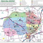 Texas Hill Country Map With Cities & Regions · Hill Country Visitor   Big Spring Texas Map