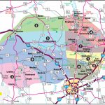 Texas Hill Country Map With Cities & Regions · Hill Country Visitor   Lackland Texas Map