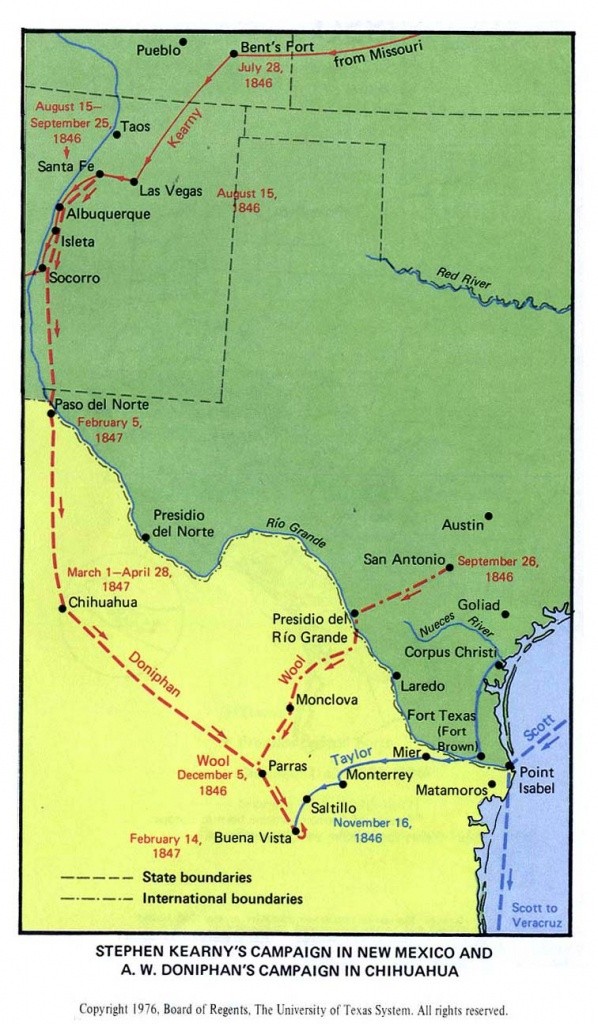 Map Of Texas Showing Santa Fe