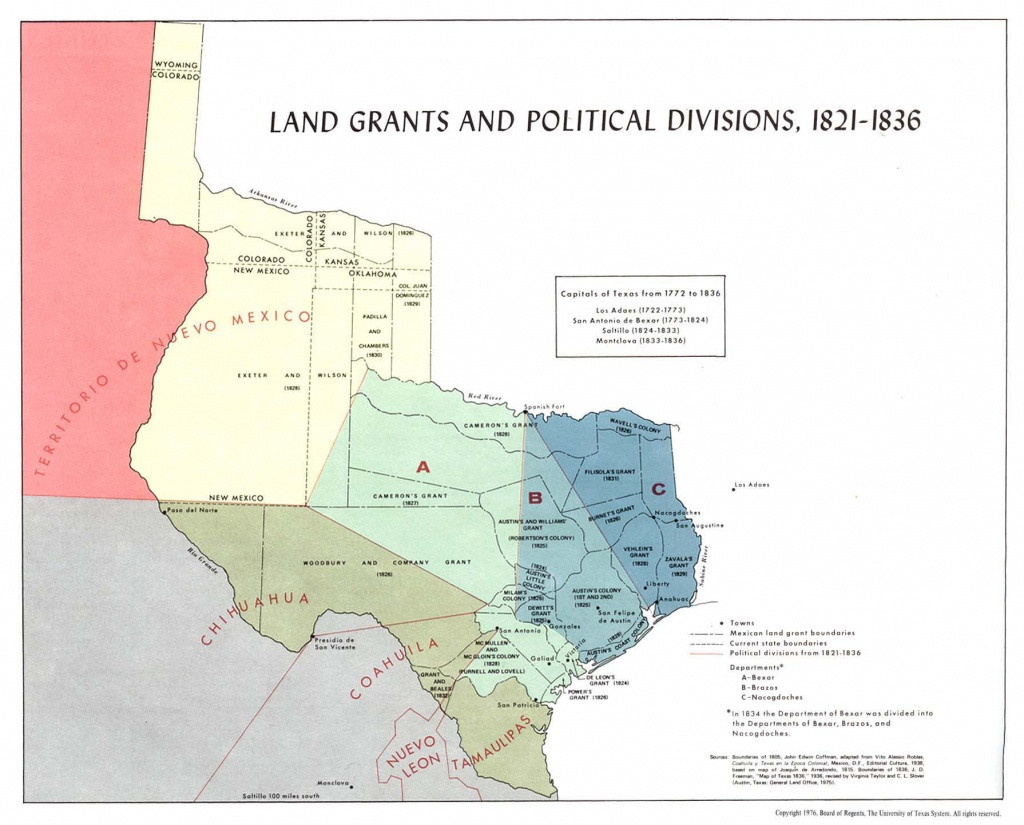 Texas Historical Maps - Perry-Castañeda Map Collection - Ut Library - Republic Of Texas Map