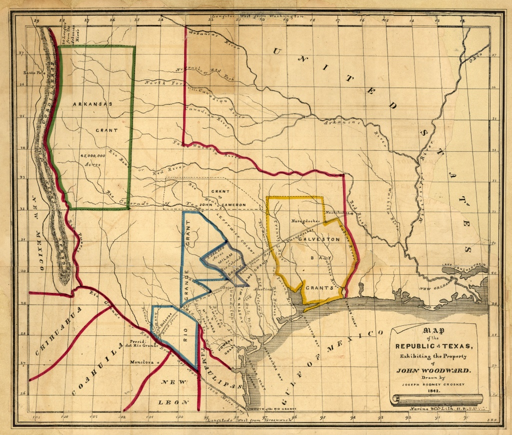 Texas Historical Maps - Perry-Castañeda Map Collection - Ut Library - Texas Historical Maps
