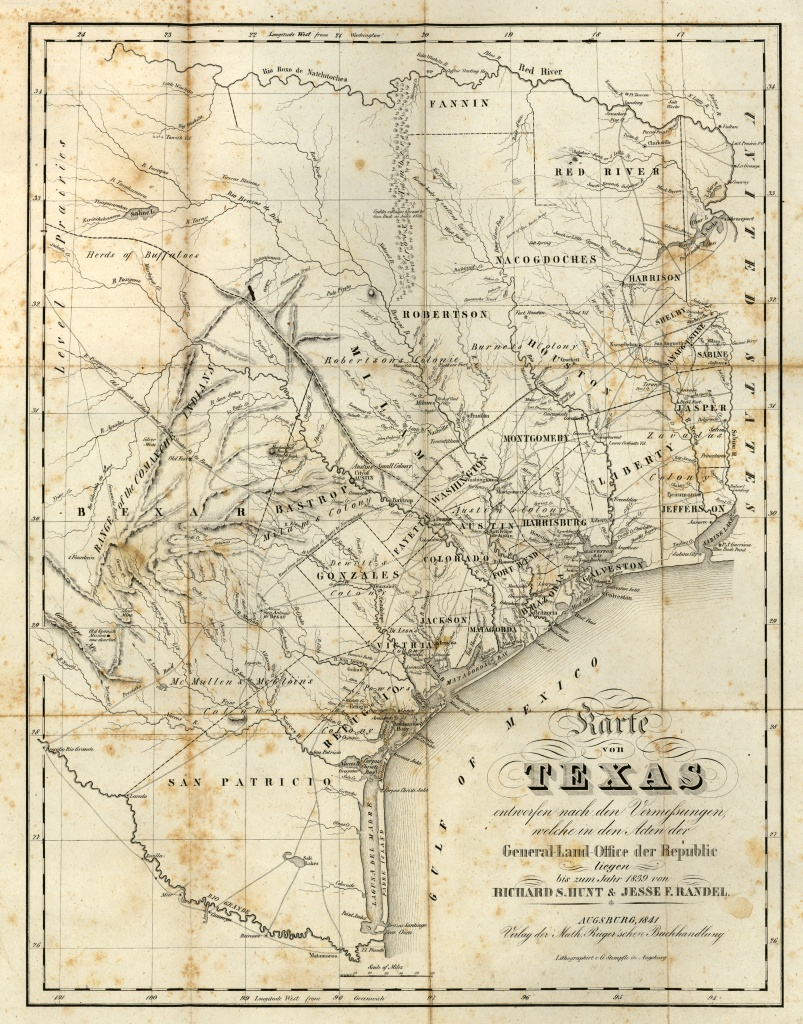 Texas Historical Maps - Perry-Castañeda Map Collection - Ut Library - Texas Plat Maps