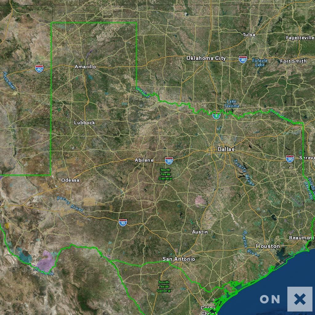 Texas Hunt Zone North Texas General Whitetail Deer - Texas Deer Hunting Zones Map