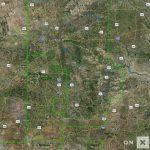 Texas Hunt Zone Panhandle Mule Deer   Texas Deer Hunting Zones Map