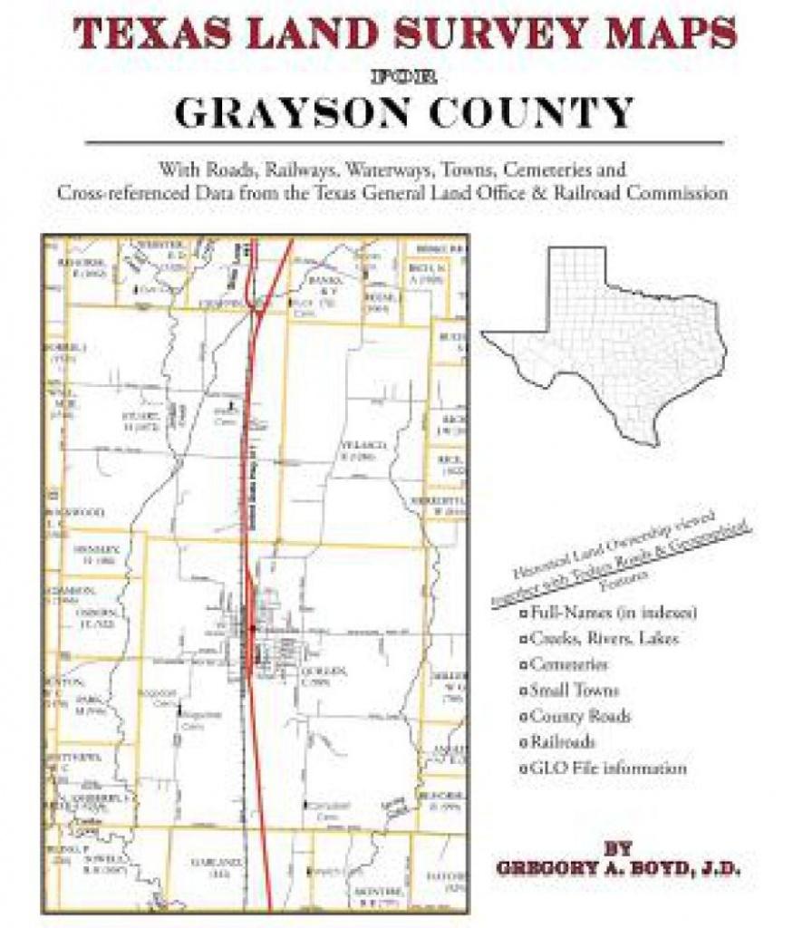 Texas Land Survey Maps For Grayson County - Texas Land Survey Maps Online