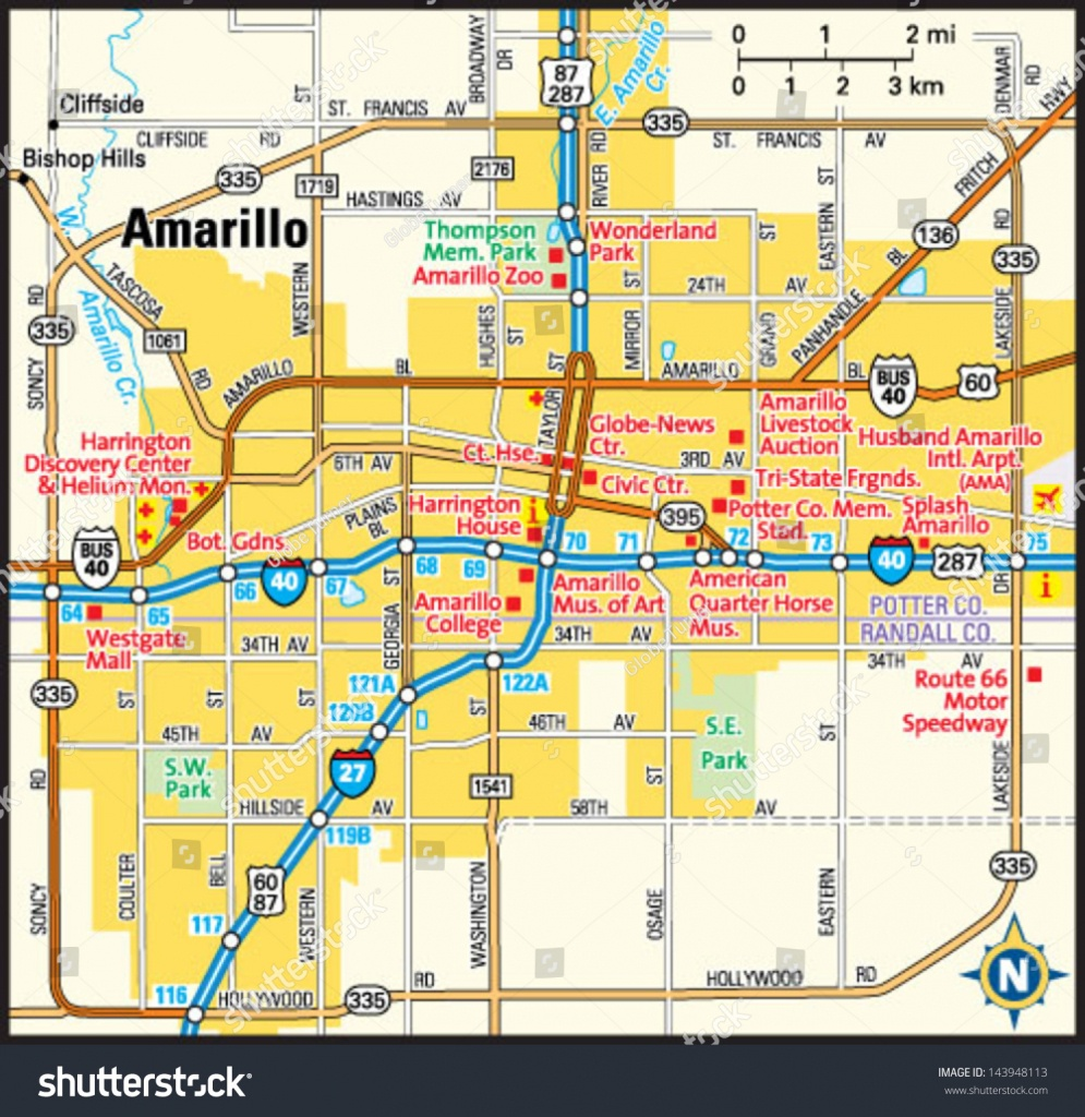 Texas Map Amarillo   Business Ideas 2013 - Where Is Amarillo On The Texas Map