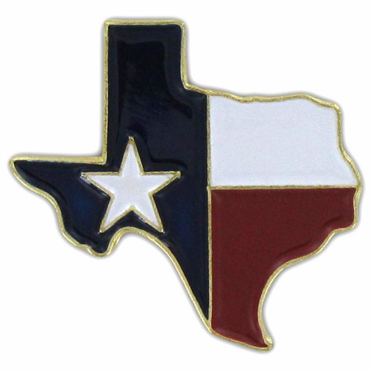 Texas Flag Map