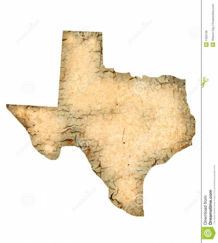Texas Map Artwork