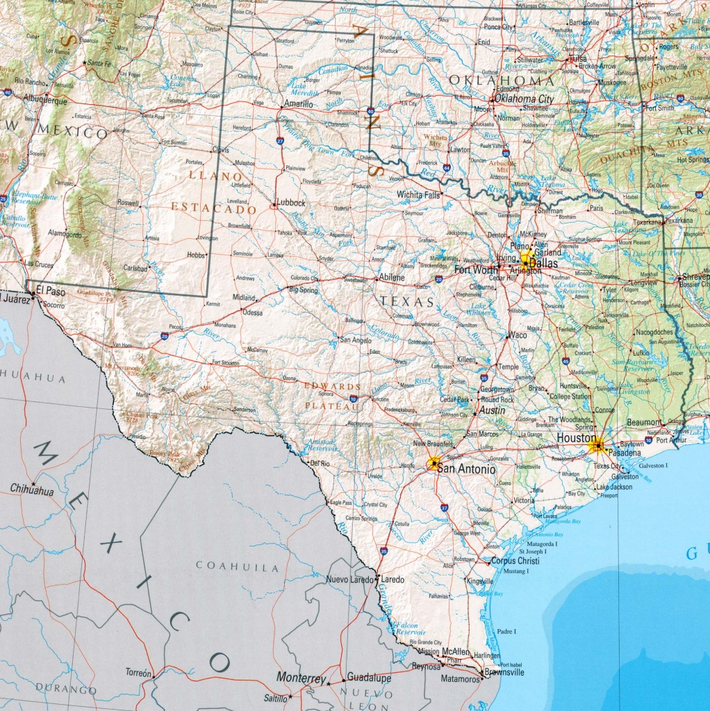Texas Maps - Perry-Castañeda Map Collection - Ut Library Online - Google Maps Houston Texas
