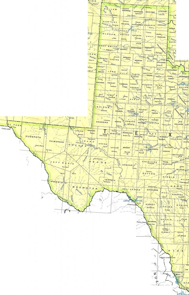 Texas Maps - Perry-Castañeda Map Collection - Ut Library Online - Google Texas Map