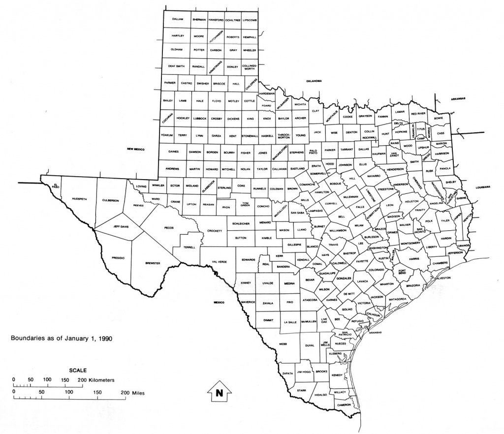 Texas Maps - Perry-Castañeda Map Collection - Ut Library Online - Texas County Map Interactive