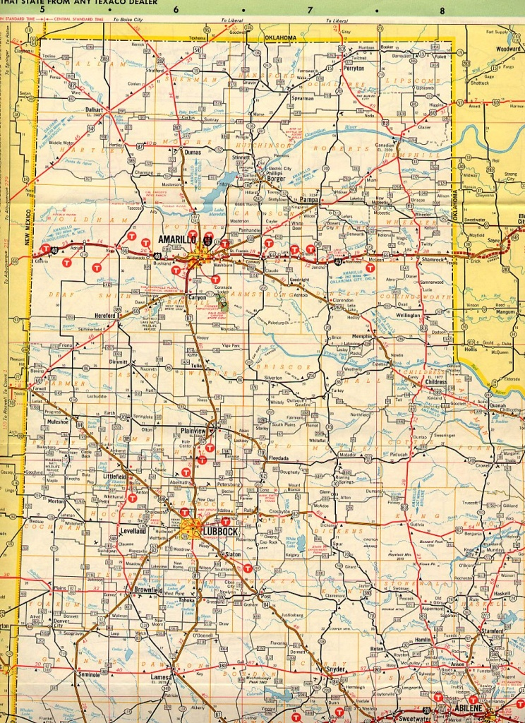 Texas Panhandle Road Map | Business Ideas 2013 - Texas Panhandle Road Map