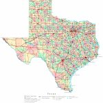Texas Printable Map   Texas Map Outline Printable