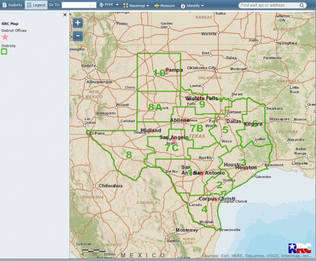 Texas Railroad Commission's New Gis Viewer Up And Running — Oil And - Texas Rrc Gis Map