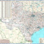 Texas Reference Wall Map   Texas Wall Map