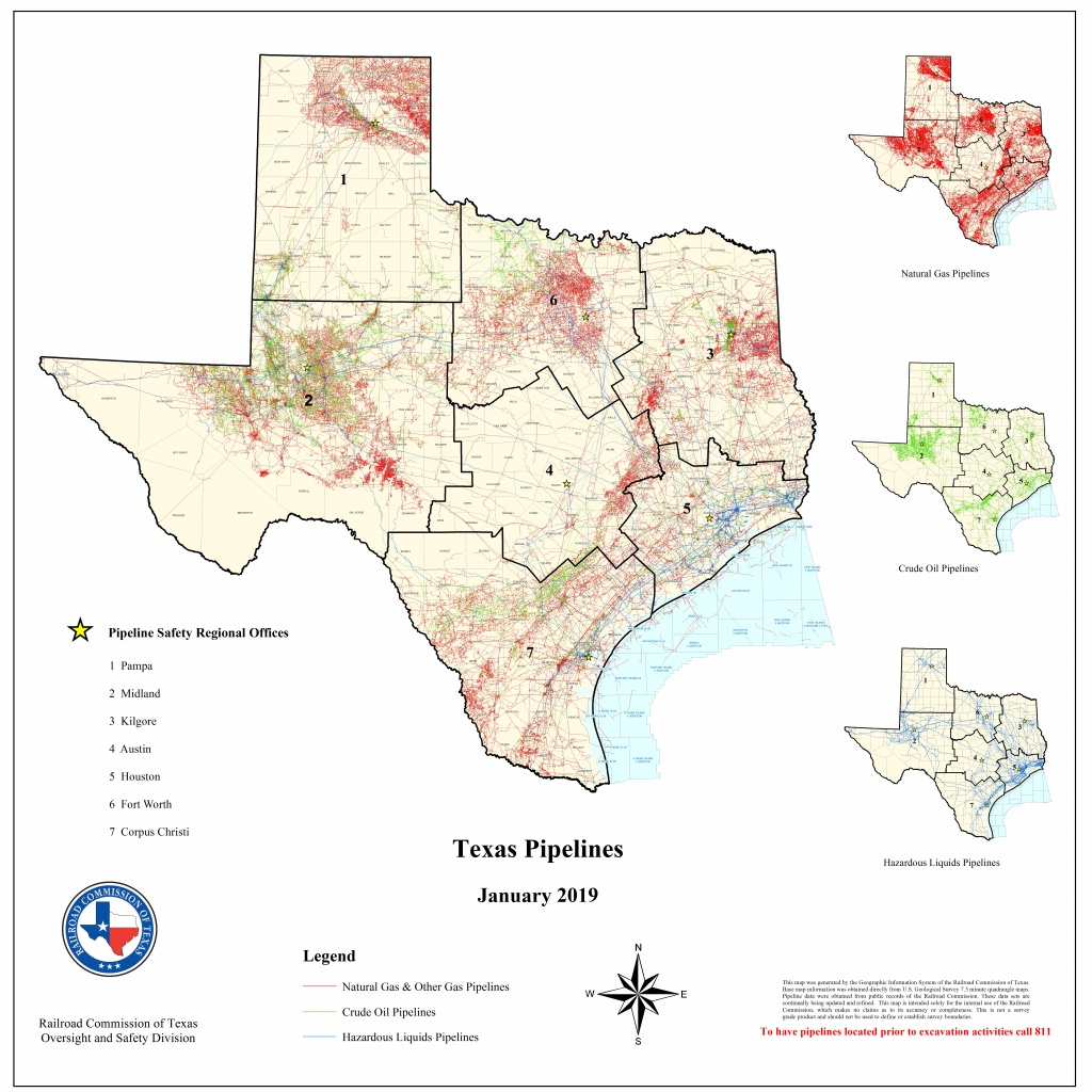 Texas Rrc - Special Map Products Available For Purchase - Texas Pipeline Map