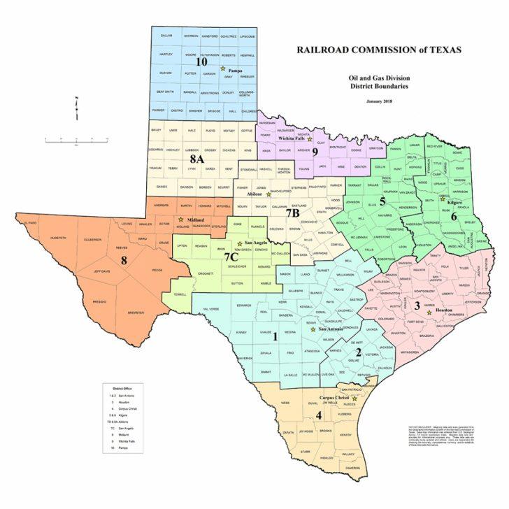 Texas Rrc Gis Map