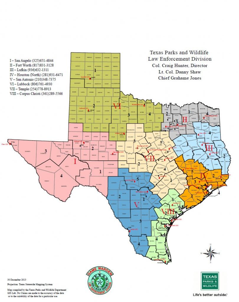 Texas Rut Map - World Maps - Texas Rut Map 2017