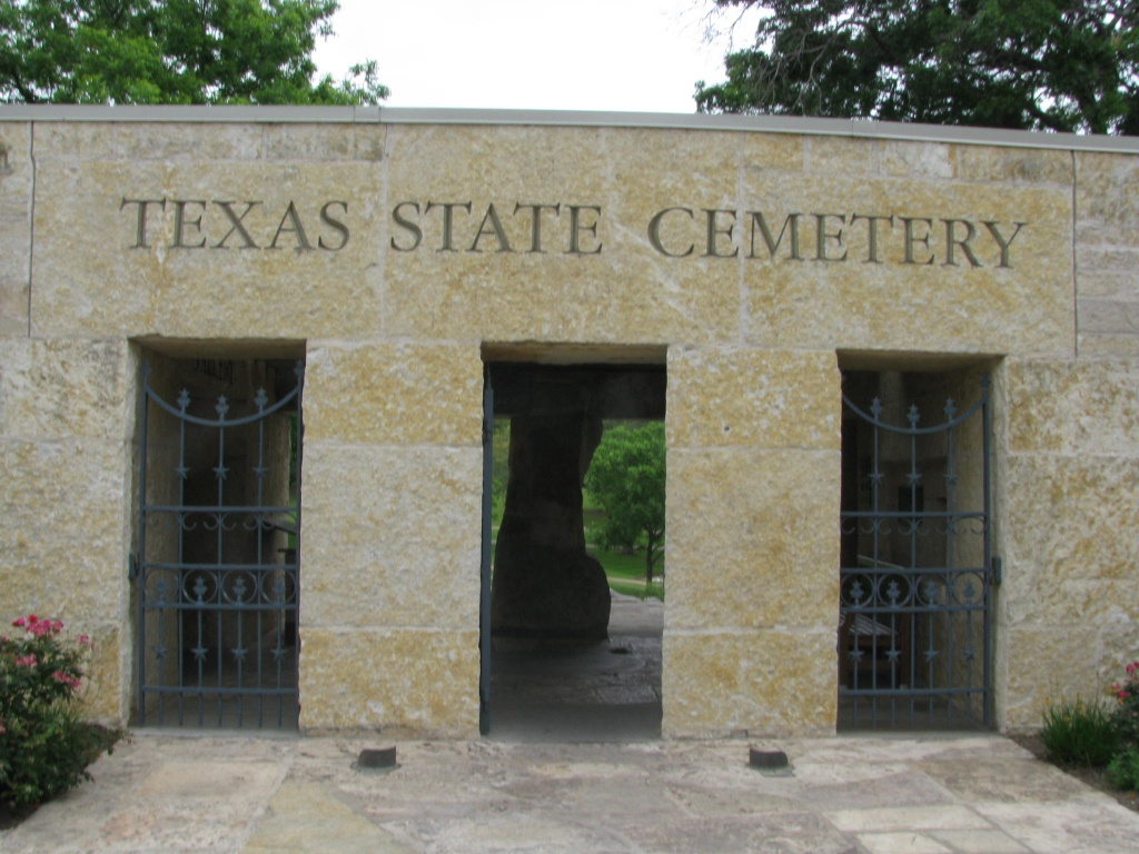 Texas State Cemetery In Austin, Texas - Find A Grave Cemetery - Texas State Cemetery Map