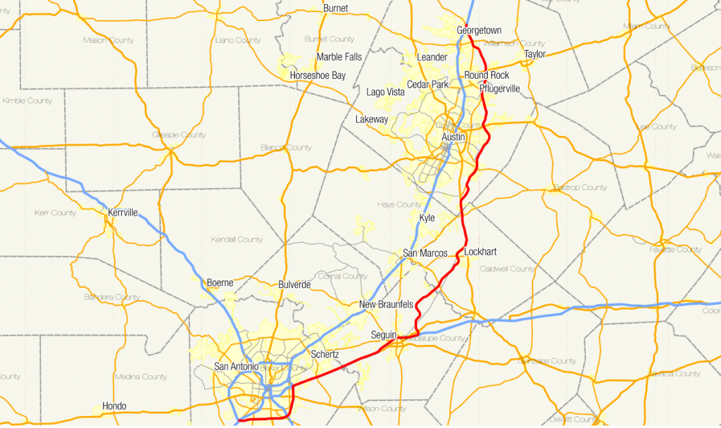 Texas State Highway 130 - Wikipedia - Austin Texas Road Map