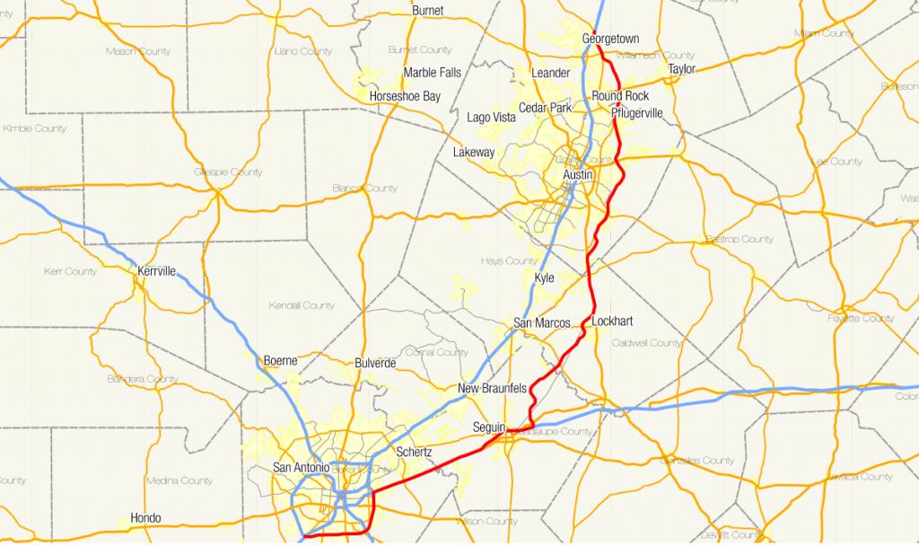 Texas State Highway 130 - Wikipedia - Cedar Park Texas Map