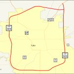 Texas State Highway Loop 323   Wikipedia   Tyler Texas Location Map