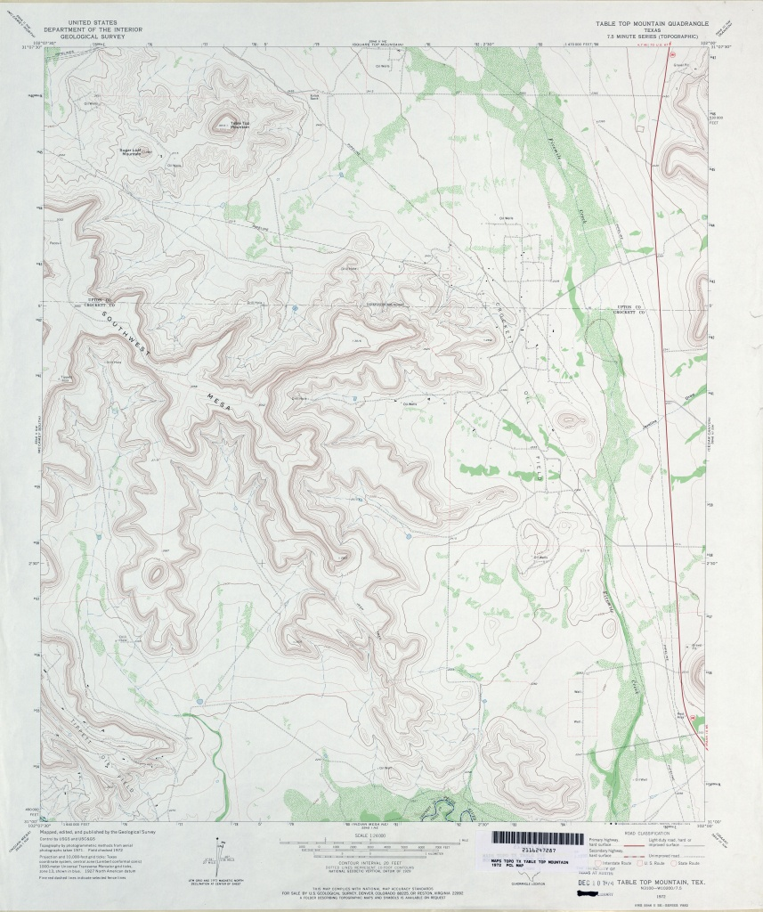 Texas Topographic Maps - Perry-Castañeda Map Collection - Ut Library - Texas Tree Map