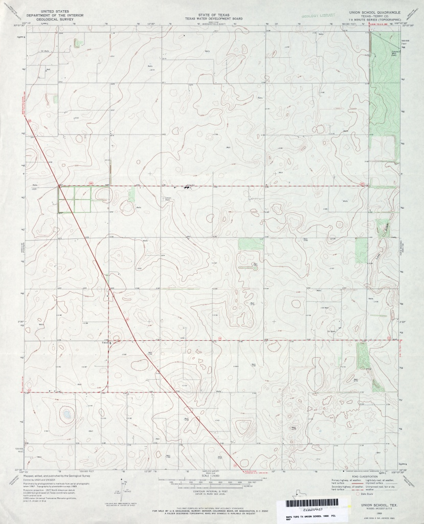 Texas Topographic Maps - Perry-Castañeda Map Collection - Ut Library - Utopia Texas Map
