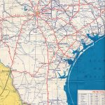 Texasfreeway > Statewide > Historic Information > Old Road Maps   South Texas Road Map