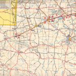 Texasfreeway > Statewide > Historic Information > Old Road Maps   Texas Panhandle Road Map