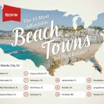 The 15 Most Affordable Beach Towns To Buy A Vacation Home   Redfin   Map Of Florida Beach Towns